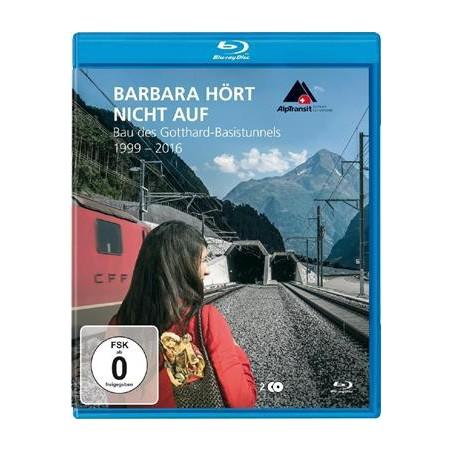 Barbara ne s'arrête jamais - La construction du tunnel de base du Gothard 1999-2016 - Blu-ray (Edition Allemande)