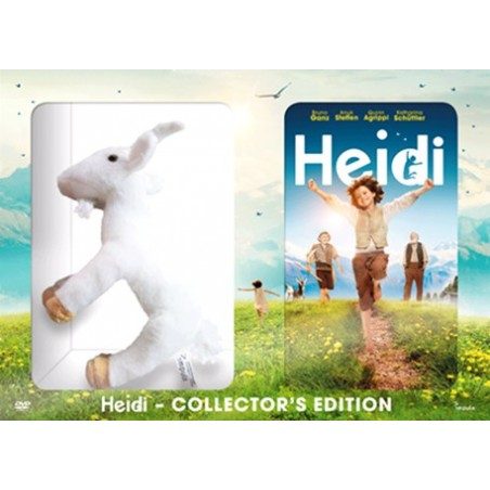 Heidi DVD & Peluche - Edition collector