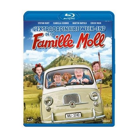 L'extraordinaire week-end de la famille Moll (Blu-ray)