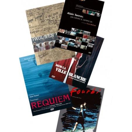 Pack 5 DVD Alain Tanner 1983-2004