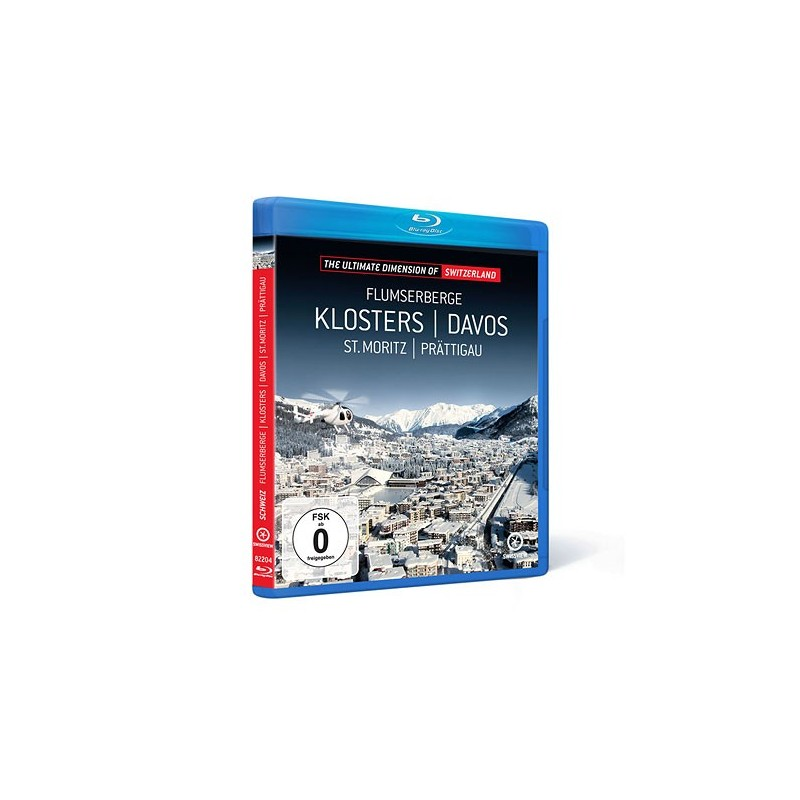Swissview Vol.4 - Flumserberge / Klosters / Davos Blu-ray