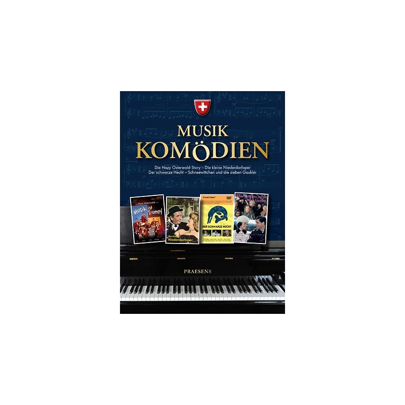 Schweizer Musikkomödien Box, die
