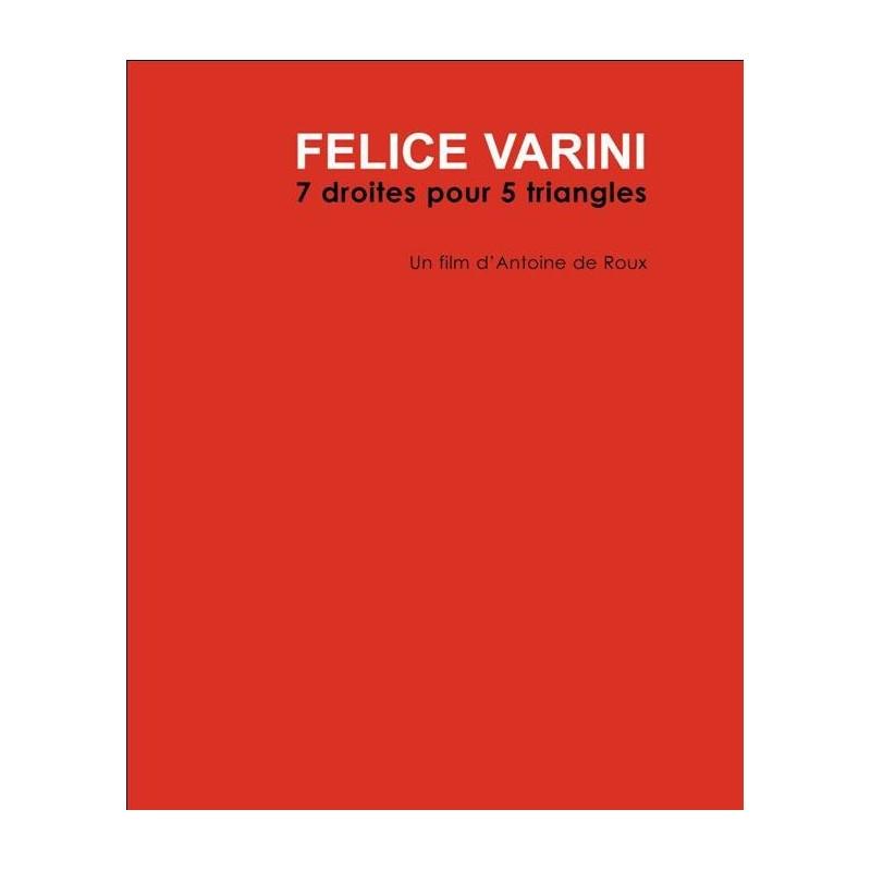 Felice Varini - 7 droites pour 5 triangles