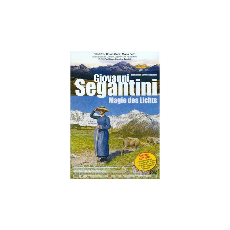 Giovanni Segantini - Magic Of Light - Special Edition DVD + CD