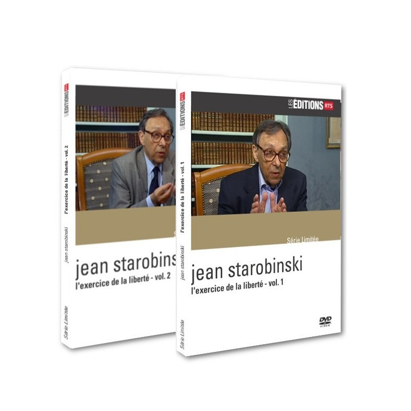 Jean Starobinski - Pack L'exercice de la liberté - vol. 1&2