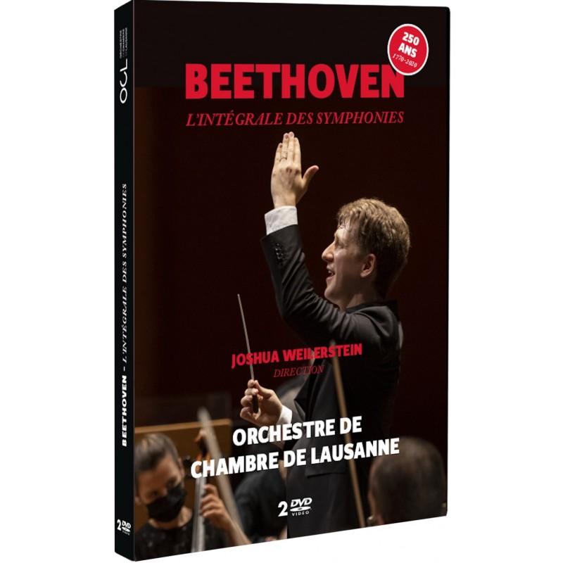 Beethoven - l'intégrale des symphonies par l'OCL - Double DVD