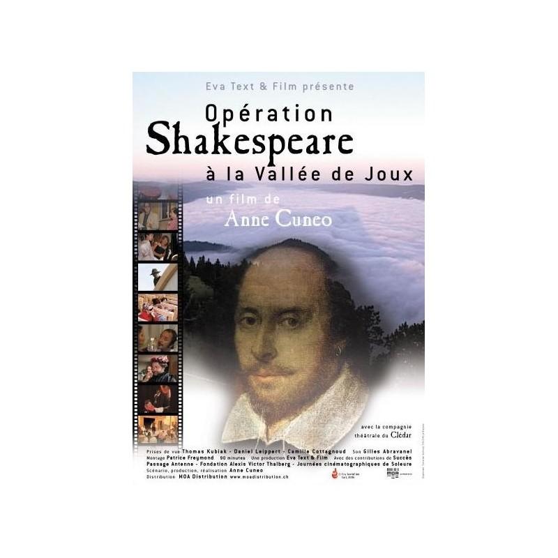 Opération Shakespeare à la Vallée de Joux